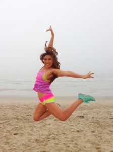 Cassey's workouts make us (and her) jump, jump!
