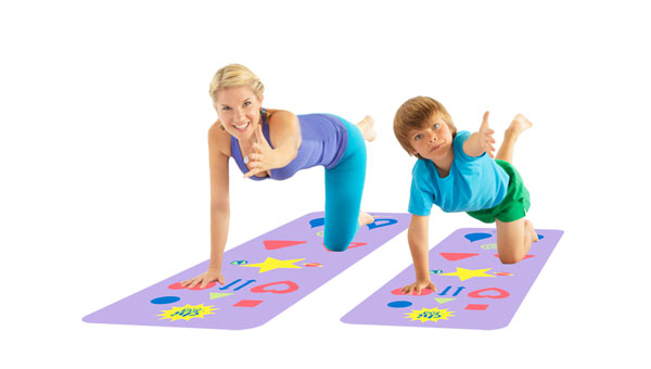 Intro to Kids' Yoga-with Phresh Yoga Mats - Fit Bottomed Girls