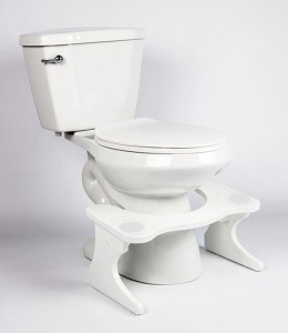 Behold the Squatty Potty!