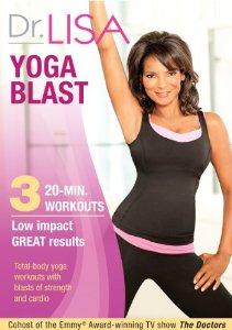 Dr. Lisa Yoga Blast Workout DVD Review: More Like Fun Dance Blast!
