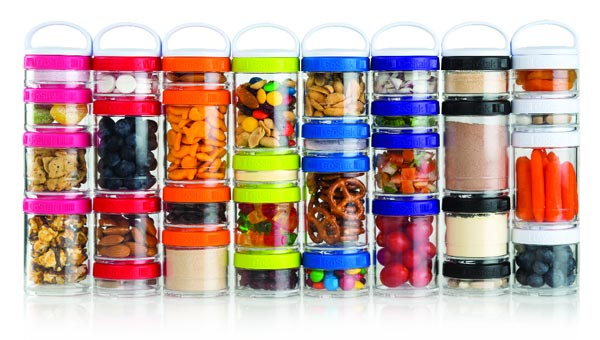 Nutrition on the Go: Stack It, Shake It and Go!