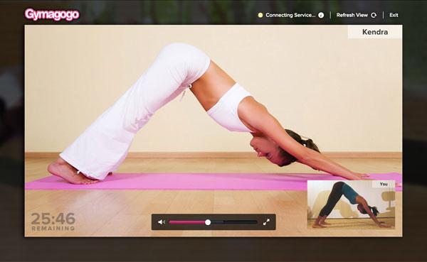 Online yoga? I signed up!