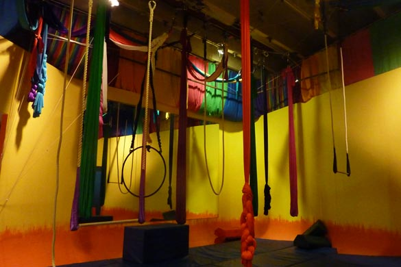 Workout I Did: Aerial Workout --- Houston We Have A Problem