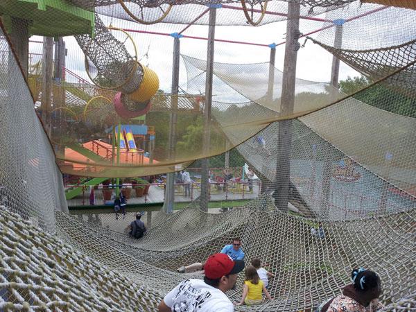 sesame rope nets