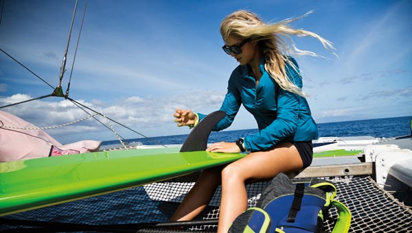 Apparel for Your Beachy Active Adventures: Roxy's Outdoor Fitness Collection