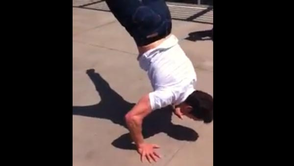 Tony Horton's Super Burpee is ridic!