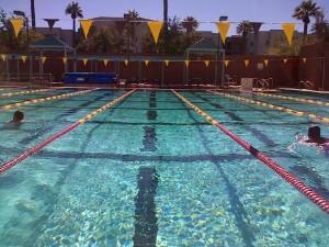 Lanes at Swimming Pool