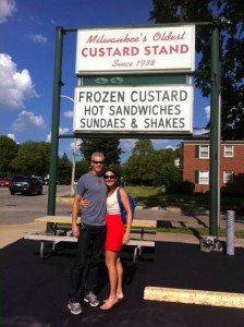 The oldest Frozen Custard Stand in Milwaukee
