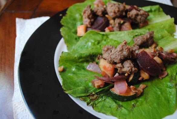 bison-lettuce-wraps
