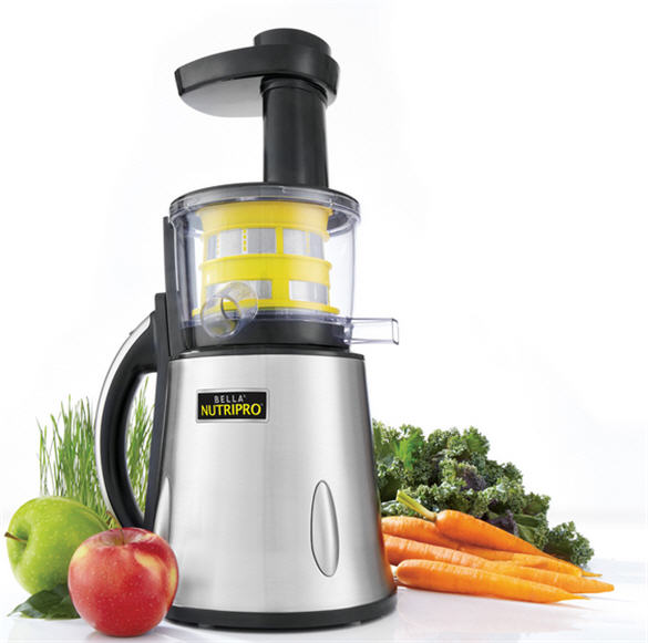 Bella NutriPro, juicing, cold press juicing