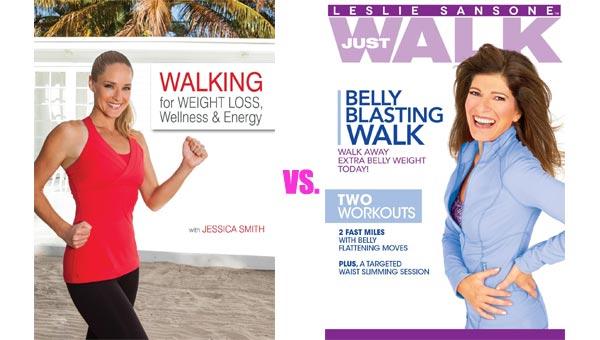Walking Workout DVD Head-to-Head: Walking for Weight Loss, Wellness & Energy vs. Belly Blasting Walk