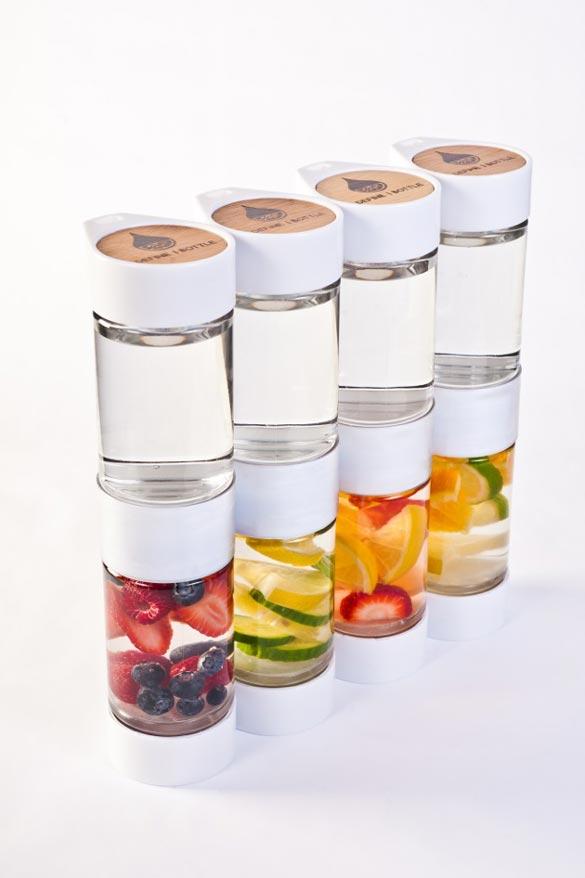 fruit infuser water bottle fruit of the spirit kindness
