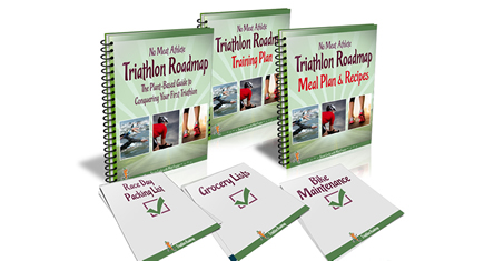 no meat athlete triathlon road map