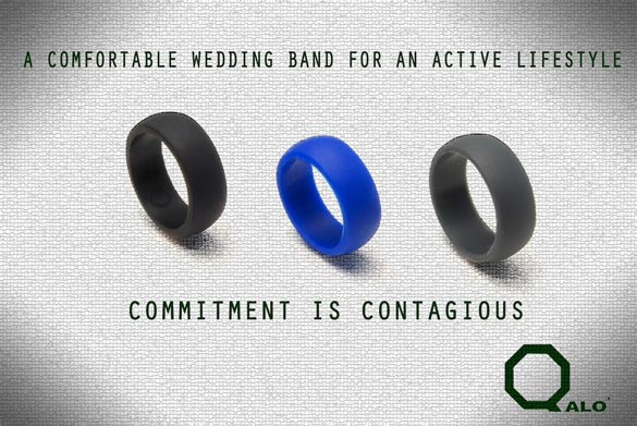 QALO Ring A Solution for Working Out With a Wedding Band