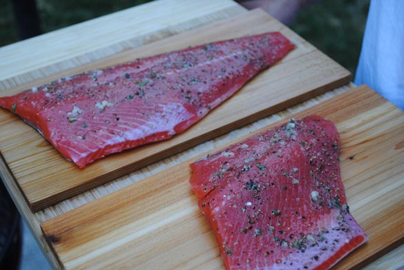 salmon-on-cedar-planks