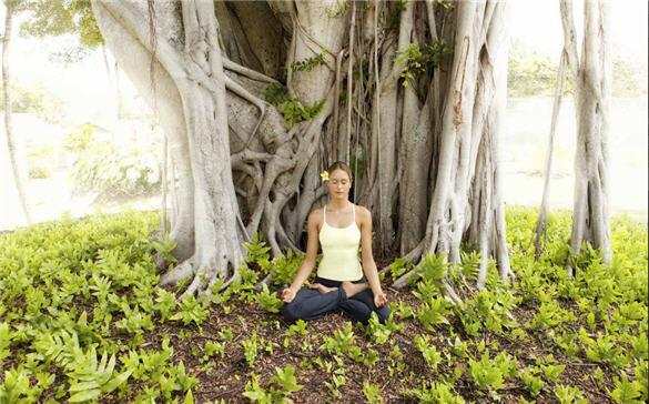 travaasa resort meditation