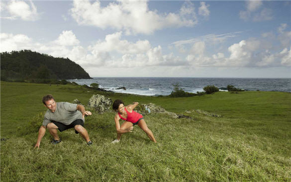travaasa, circuit training, travel, honeymoon