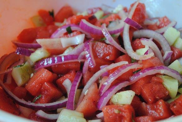 watermelon-cucumber-mint-salad