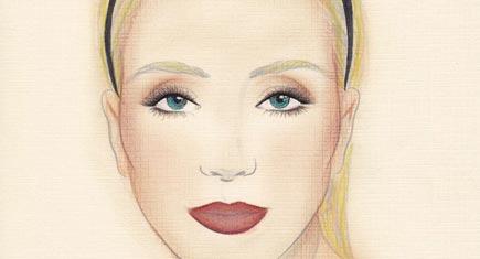 Fall Beauty Face Chart, Plus a Neutrogena Make-Up Giveaway!
