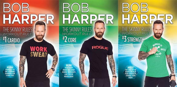 Three times the Bob, three times the workout (and eye candy).