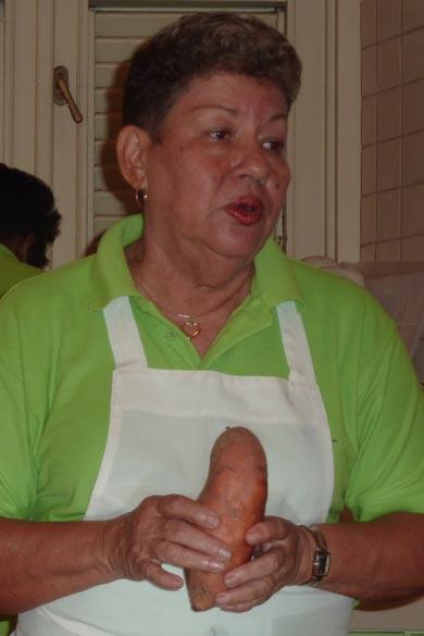 Chef at Angelica's Kitchen