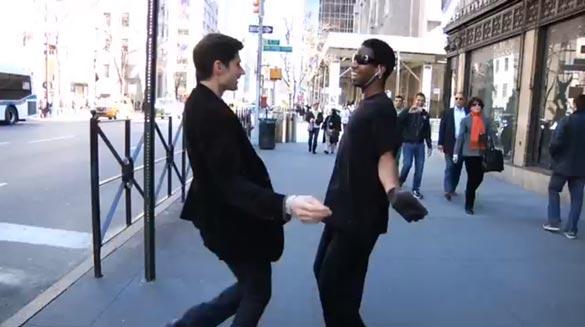 Dance walking ... even better with friends!