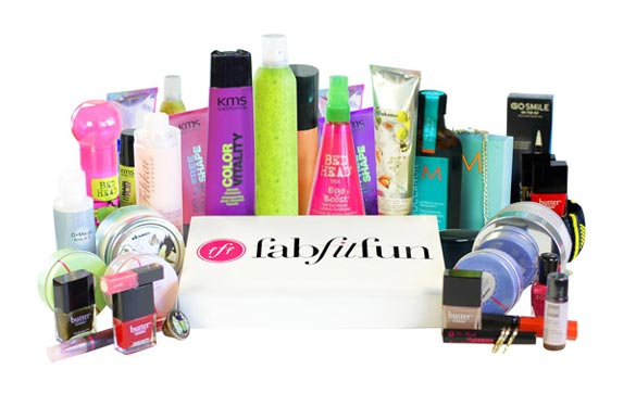 Just an idea of the goodies you might find in your FabFitFun VIP Box!