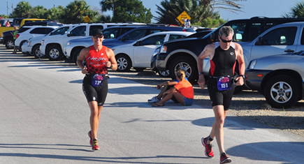 triathlon running