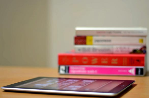 Whether your like to read on a tablet or with a physical book, check these fit and inspiring reads out! Credit: spykster, Flickr