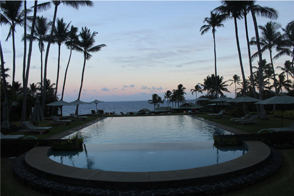 travaasa resort, Hana, wellness pool