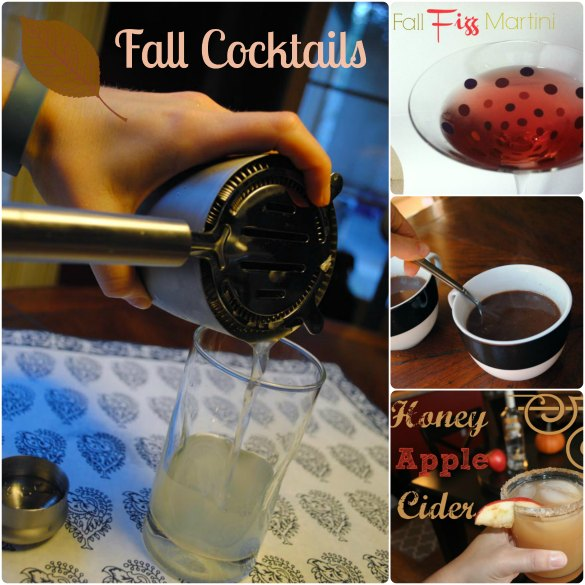 5 fall cocktails hey they 39 re healthy ish for Fun fall drinks