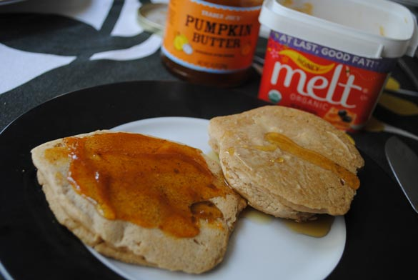 high-protein-pancake-mix-butter