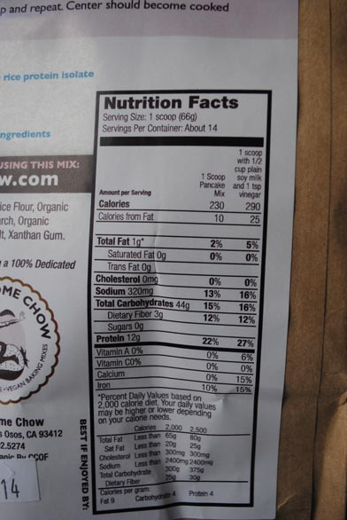 high-protein-pancake-mix-nutrition