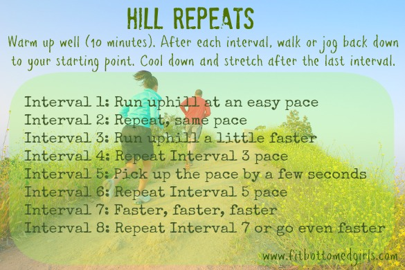 hill interval workout