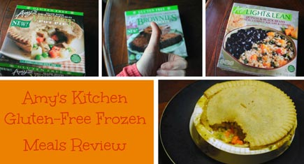 Amy S Kitchen Review Gluten Free Frozen Meals And Brownies