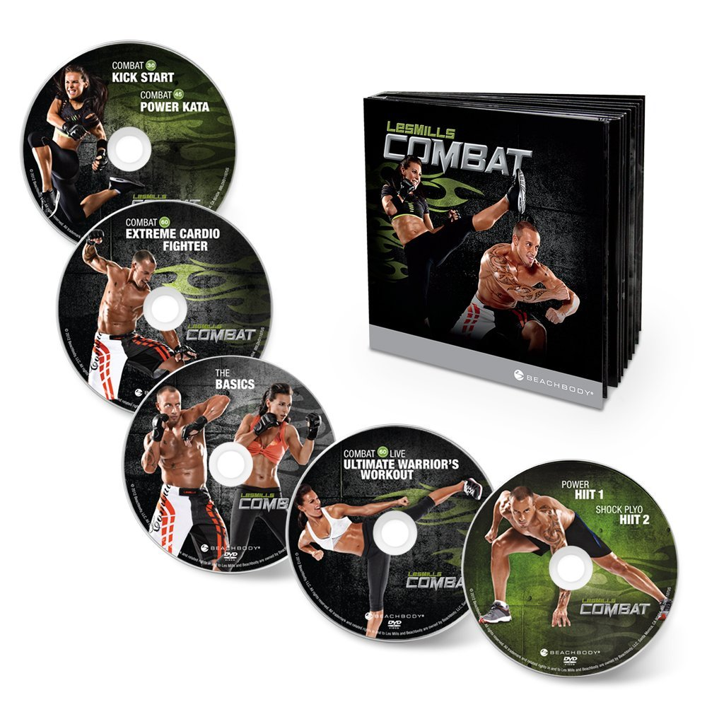 Les Mills Combat 60-Day DVD series!