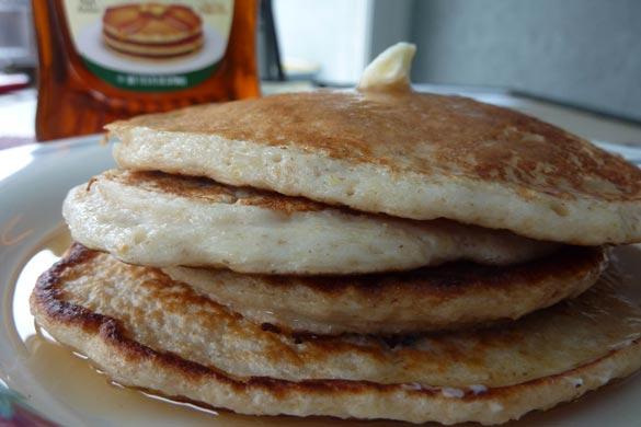protein-pancake-stack