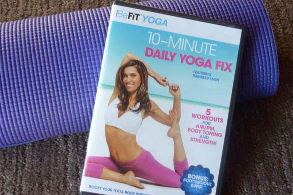 10-minute-yoga DVD