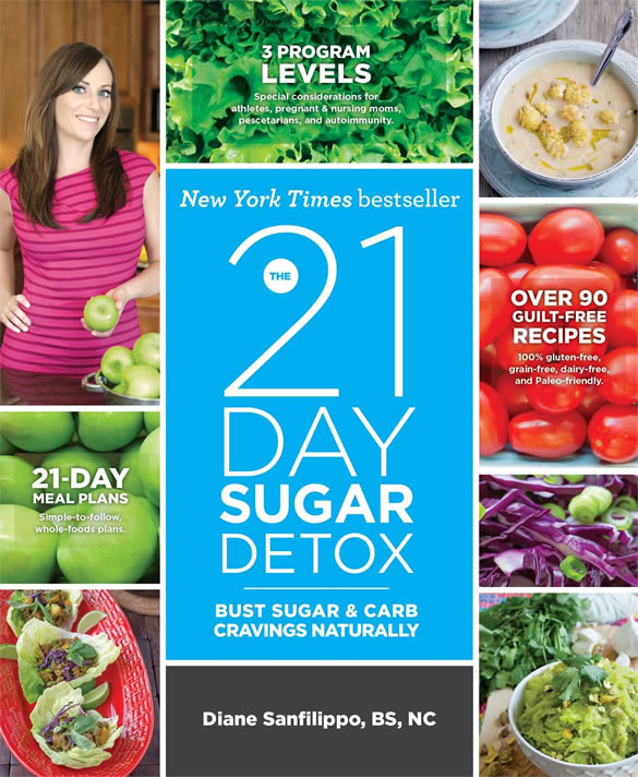 21-day sugar detox cookbook