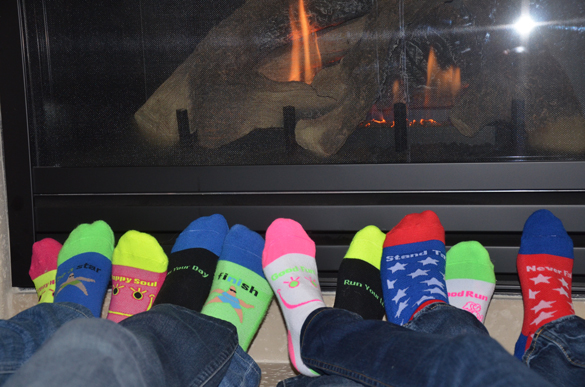 Warm your (cute) feet by the fire, and check out these links! Credit: MySoxyFeet.com