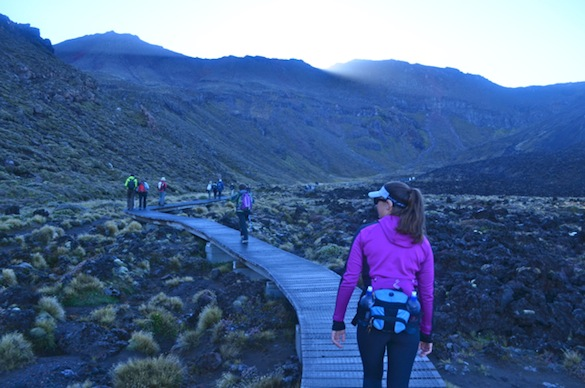 Walking Tongariro Hike