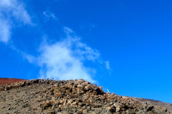 Climbing Ngauruhoe