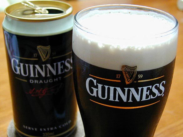 Dark, creamy and wonderful, especially on St. Patrick's Day. Credit: kengo