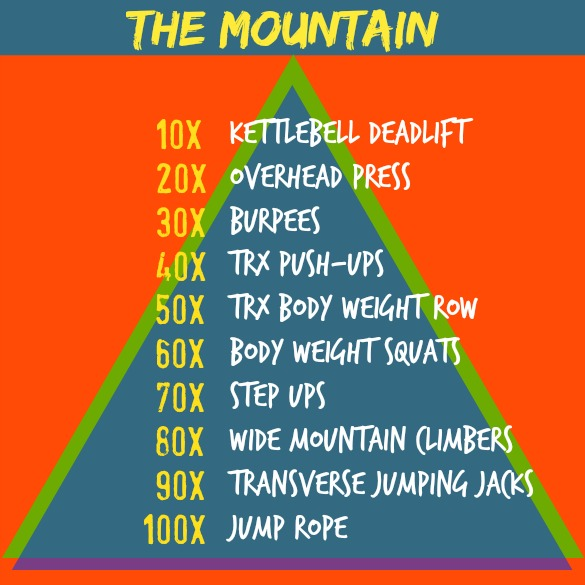 mountain workout