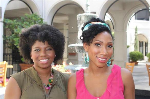 Sporty Afros, triathlon training, women of color, hair cair