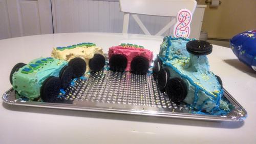 trainfinal cake