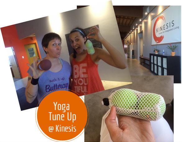 Yoga Tune Up, Culver City Gym, Kinesis, recovery, yoga, therapy balls