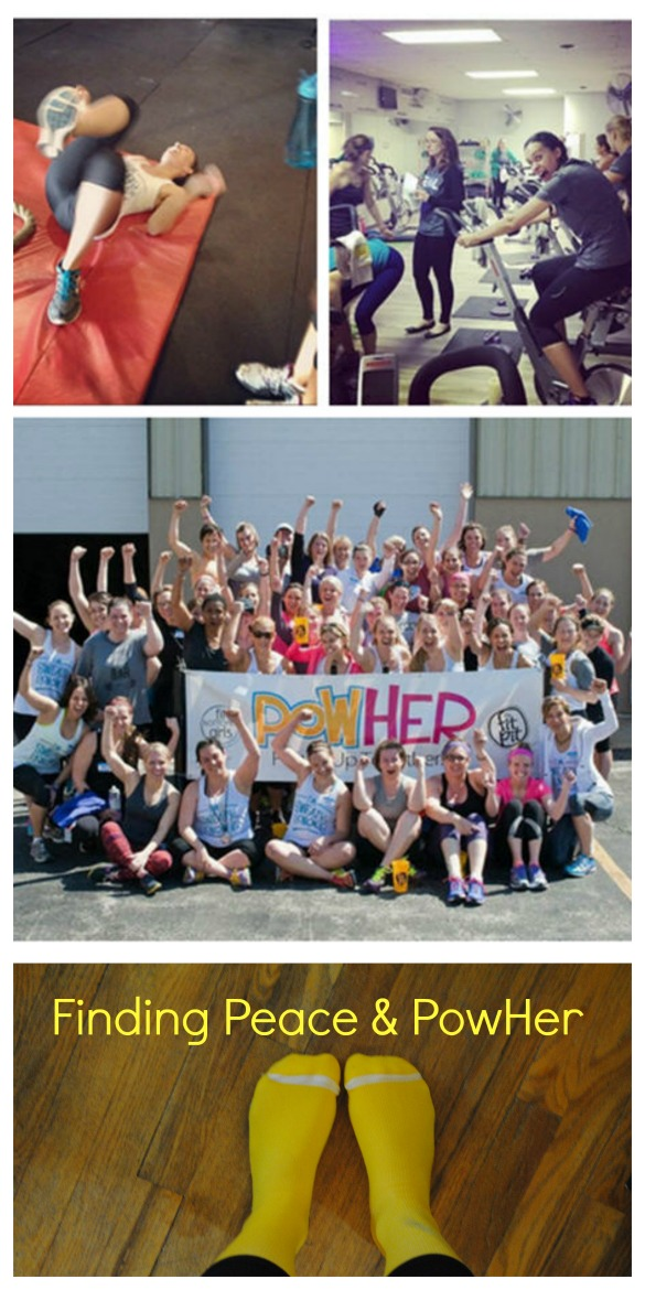 PowHer, fly fusion, spin class, compression socks, empowerment, inspiration