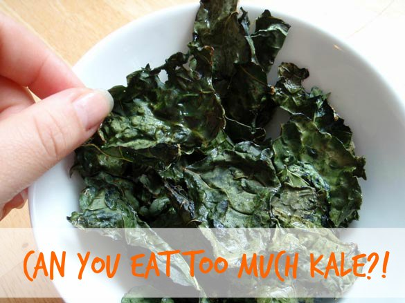 You can get too much of a good thing --- even kale. Credit: Joyosity, Flickr