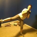 kelsey kicking